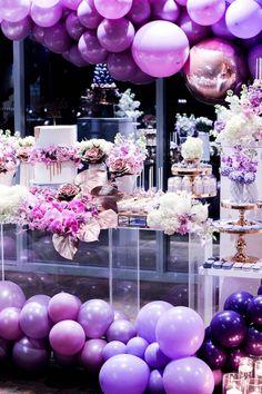 Wedding balloon installation - Sweet Event Styling by Thanh #weddingdecor #weddingballoons #balloondecorations #ballooninstallatuon #weddinginspiration #weddingideas
