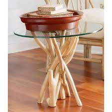 glass top branch bottom coffee table - Google Search