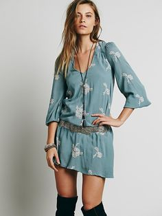 Free People Embroidered Austin Dress, $148.00