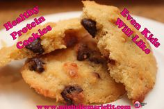 OMG, best #Healthy #Cookies ever! Almond Meal, Protein, Coconut...... heaven.