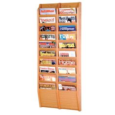 125 best magazine rack images on pinterest magazine holders wooden mallet 20 pocket magazine wall rack is a simple literature organizer for office school or church find discounted magazine racks from worthington solutioingenieria Choice Image
