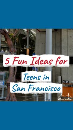 Visiting San Francisco with teens? Check out my video with five fun things to do during your stay. These are things both you and your teens will enjoy! San Francisco With Kids, Best Hotels, Stuff To Do, Things To Do, Teen, Fancy, Activities, Cake, Check