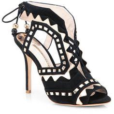 Sophia Webster Tribal Lace-Up Suede Sandals $695