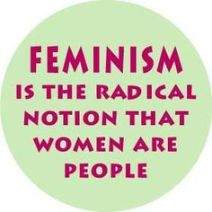 What a radical notion, indeed! At least it is for a lot of men who do not get it.