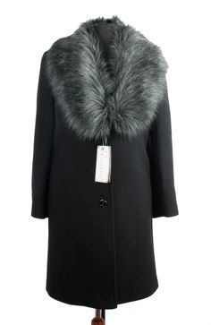 d4ed58560bbf Ženský kabát s odnímateľnou kožušinou Helena Riverine Omnimoda.