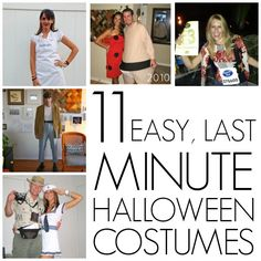 11 easy, last minute homemade Halloween costumes