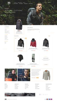 Bear Grylls Store Re-Design Concept on Behance