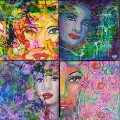 """I am selling these four paintings to help the Tolerance Kids """"meet"""" Anne Frank.  All proceeds benefit them.  Make me an offer!  Contact me at feliciaborges@yahoo.com For more info about the kids:   http://www.donorschoose.org/project/tolerance-kids-meet-anne-frank/1149915/"""