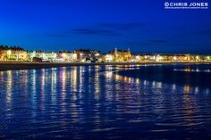 Weymouth Seafront by night, Dorset