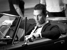 :) The stare, Matthew Mcconaughey