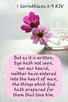 1 Corinthians 2:9 KJV