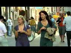 People from Riga, Latvia streets