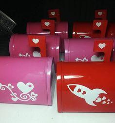 Custom Valentine Mailbox by SEPBoutique on Etsy, $10.00 #SouthernEventPlanning Www.southerneventplanning.com