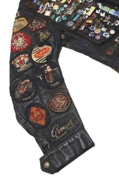 awesome history on this leather jacket.