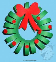 Decorazioni di Natale - Ghirlanda di carta