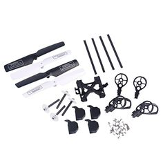 YouCute Spare Part Kit for UDI U818A U818A-1 Rc Quadcopter Drone Blade Gear by RC helicopter -- More info could be found at the image url.