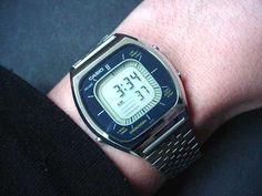 vintage lcd watches - casio