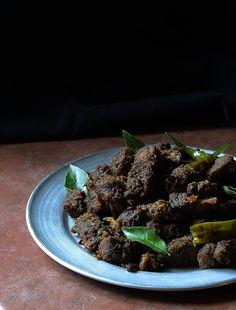 Kerala Beef Fry Image ~ ©Nessy Samuel #NessySamuelPhotography #FoodPhotography #FoodStyling #Photographer