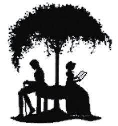 Cross stitch pattern silhouette van HetBorduurbloempje op Etsy