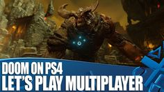 Doom on PS4 - New Multiplayer Gameplay