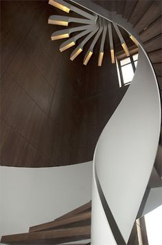 Beautiful Ceiling and modern stair