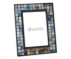 Porta-Retrato Mosaico Layla - Foto 12x18cm MATERIAL Vidro, Espellho e MDF MEDIDAS Largura: 12 cm x Altura: 18 cm x Profundidade: 2 cm de 140,00  por  99,90