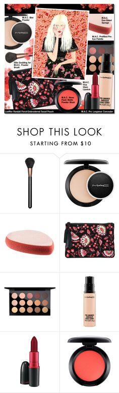 """Makeup Bag Staples II"" by anna-anica ❤ liked on Polyvore featuring beauty, MAC Cosmetics, Loeffler Randall, Becca Stadtlander, contestentry, PVStyleInsiderContest and makeupbagstaples"