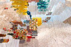 Art   Kite Installation