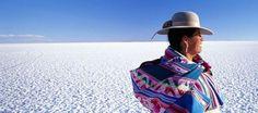 Salar de Uyuni is part of the Altiplano of Bolivia in South America