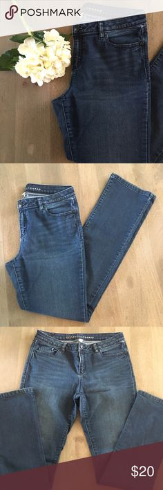 LC jeans Straight leg jeans- great condition! Size 12 LC Lauren Conrad Jeans Straight Leg