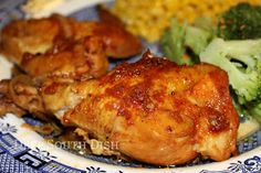 Deep South Dish: Old School Oven Barbecued Chicken