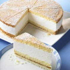 German Käse-Sahne-Kuchen ( cheese cream cake)