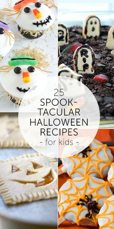 25 Spooktacular Halloween Recipes . . . who says kids get to have all of the fun? #Halloween #recipes #treats