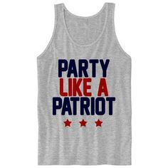 4th of July Tank Top Ladies Women Shirt Fourth of July Shirt Land of... ❤ liked on Polyvore featuring tops, shirts, tank tops, loose fit tank, loose tank top, army tank, loose tank and unisex shirts