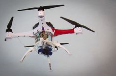 With the increasing popularity of drones as toys and potentially even for commercial delivery, researchers are going all out to build cooler and more sophisticated quadcopters. However, none can compare to the Loon Copter, which not only flies like a bird, but also swims like a fish!