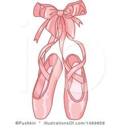 Cartoon Ballerina Shoes | ballet-shoes-clip-art2-285x300.jpg