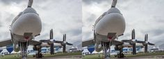 MAKS-2013 (International Aviation and Space Salon), Russia, 3D CrossView, (Tu-95SM)