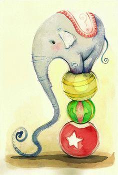 #animal #elefante #circo