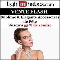 #missbonreduction; Vente Flash : remise jusqu'à 55 % sur les Accessoires de Fête Sublime & Elégante chez Light in the box.http://www.miss-bon-reduction.fr//details-bon-reduction-Light-in-the-box-i852558-c1831289.html