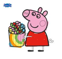 Peppa Pig Scribbles are the best...