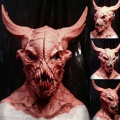 Amazing mask from @blackboxfx, sculpted by artist Joey Orosco and molded by…