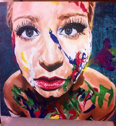 A Level Art, Exam final piece painting of my sister Advanced Higher Art, A Level Art Sketchbook, Art Assignments, Identity Art, Sketchbook Inspiration, High Art, Art Festival, Contemporary Artists, New Art
