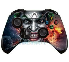 Video Games & Consoles Energetic Skulls Xbox One S 1 Sticker Console Decal Xbox One Controller Vinyl Skin Extremely Efficient In Preserving Heat