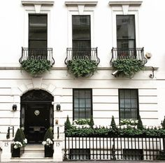 Our inspiration in creating dresses Facade Design, Exterior Design, House Design, Beautiful Buildings, Beautiful Homes, Beautiful Places, Classic Architecture, Classic House, Curb Appeal