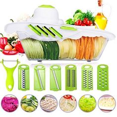 Vegetable Slicer Fruit Cutter Chopper Shredder Kitchen Machine Home Cooking Food #VegetableSlicerFruitCutterChopper
