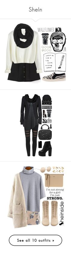 """""""SheIn"""" by scarlett-morwenna ❤ liked on Polyvore featuring Paula Bianco, Sourpuss, Wallflower, Made, BOBBY, modern, vintage, Coach, Casetify and Timberland"""