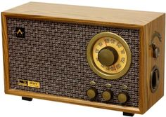 Buy Tesslor R301 Retro-style Tabletop AM/FM Hi-Fi Radio with Treble & Bass Control and Auxiliary Input for External Audio Device - Topvintagestyle.com ✓ FREE DELIVERY possible on eligible purchases