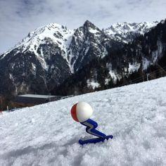 CHAMROUSSE - JO 1968 : @shuss2018coljog Shuss final sur Casserousse, arrivée de la descente olympique #shuss #chamrousse #killy #neige #grenoble #olympique #ski