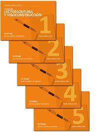 Colección Estimulación Cognitiva para adultos: Taller de Lectoescritura y Visoconstrucción