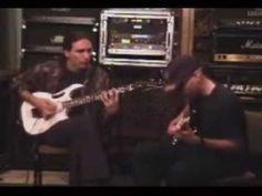 Steve Vai and Joe Satriani - Jam at Vai's Studio